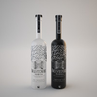 Vodka Belvedere bottle